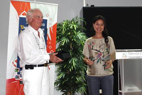 Aqualandia recibe  el galardón del Instituto de Investigaciones Turísticas de la UA por su trayectoria empresarial
