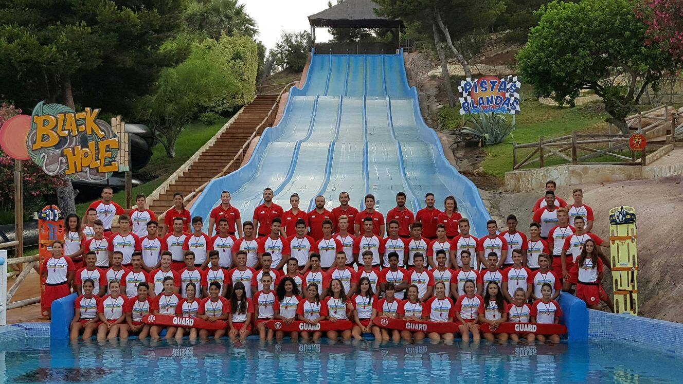 They're There for your Safety: Aqualandia's Lifeguards