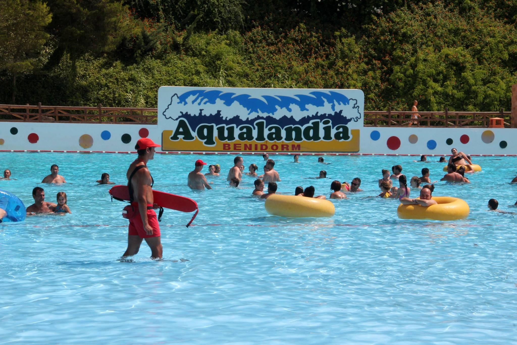 Socorrismo en Aqualandia