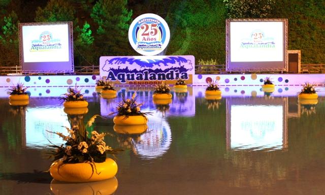 Gran fiesta 25 años Aqualandia!
