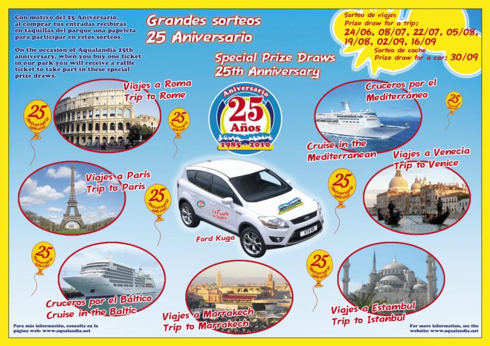 Ganador del sorteo del crucero 25º Aniversario