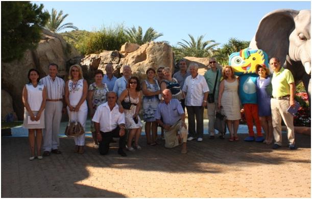 El tribunal de las Aguas de Valencia visita Aqualandia