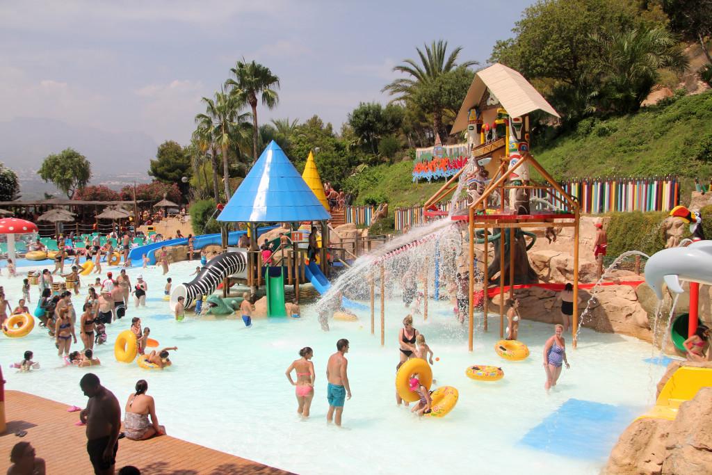 qué llevar parque de agua Aqualandia