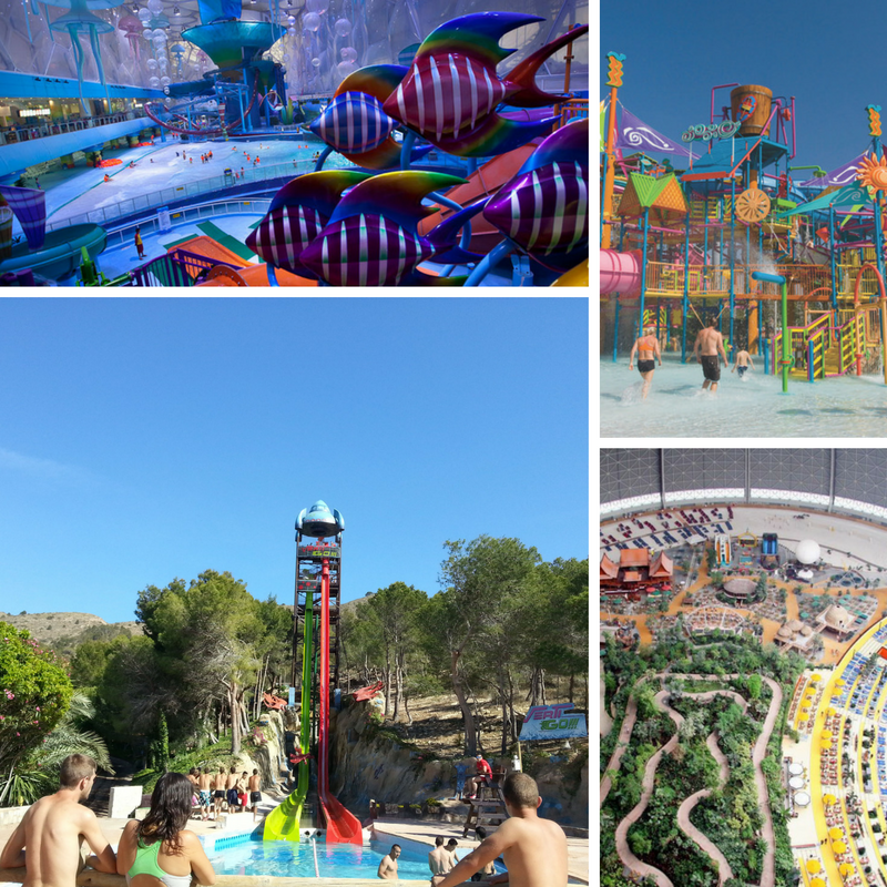 The Best and Most Original Water Parks Worldwide