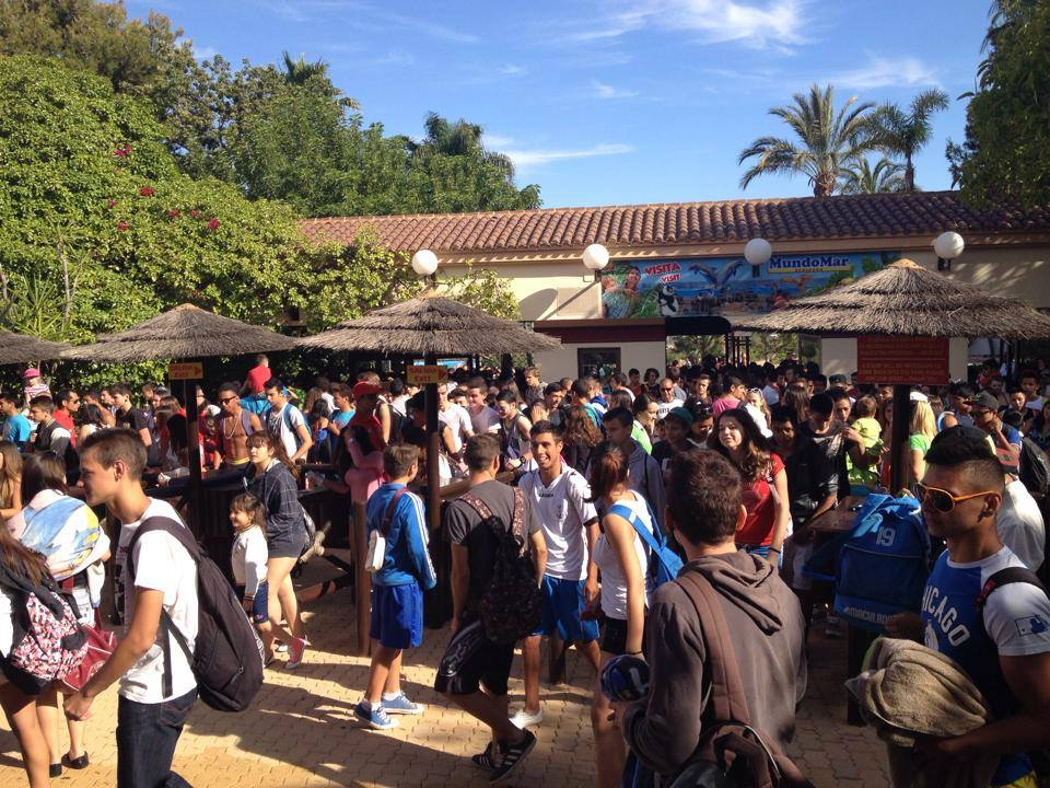 Come to Aqualandia with your School!