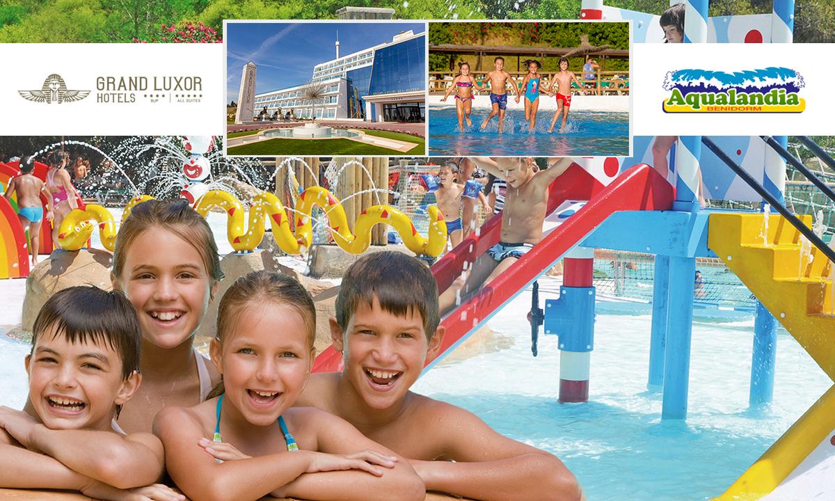 Prepara tu verano con las promociones del hotel Grand Luxor y Aqualandia