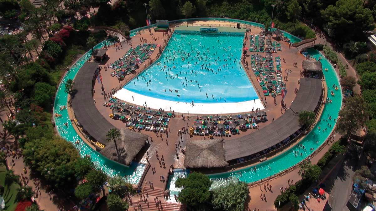 El año que se inauguró Aqualandia