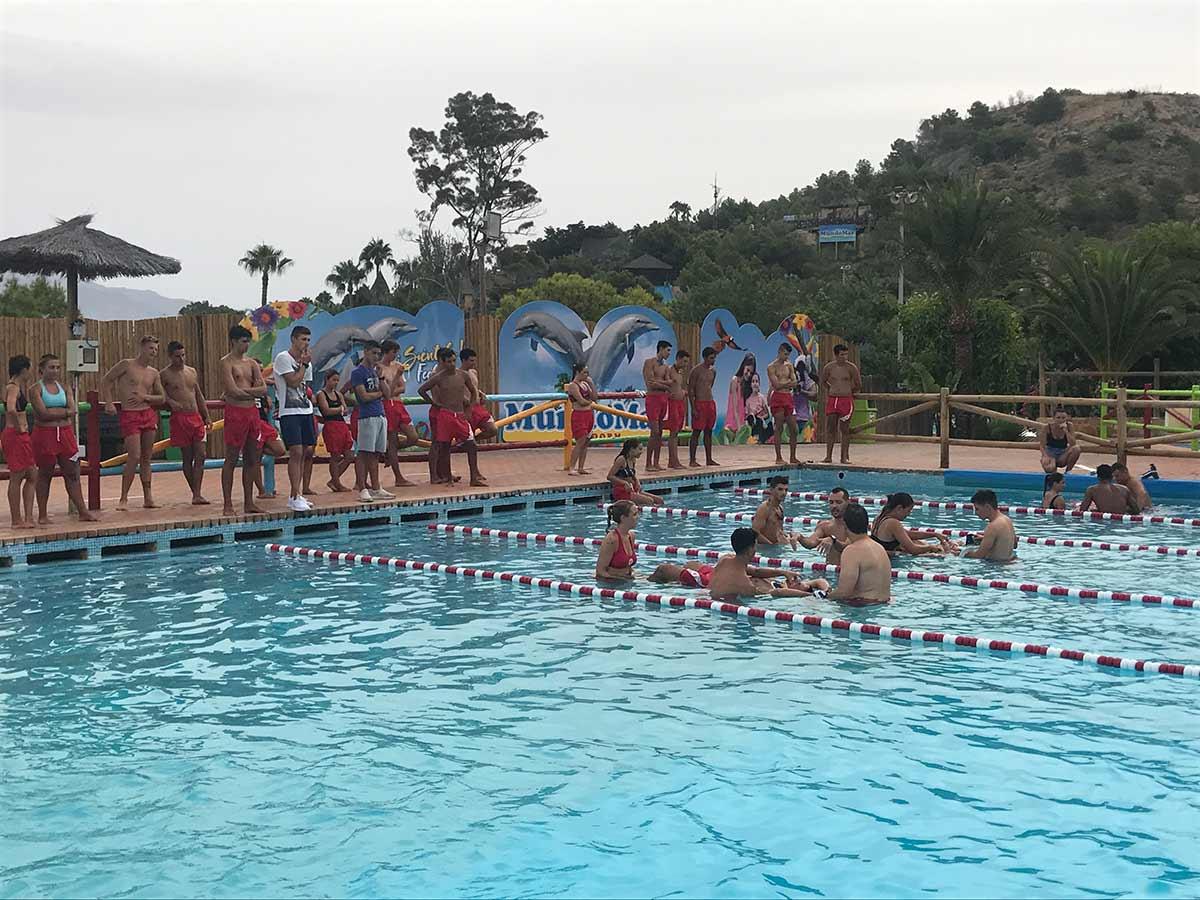 90 jóvenes seleccionados para realizar los cursos de socorrismo 2018 de Aqualandia y optar a una vacante en la plantilla del complejo acuático