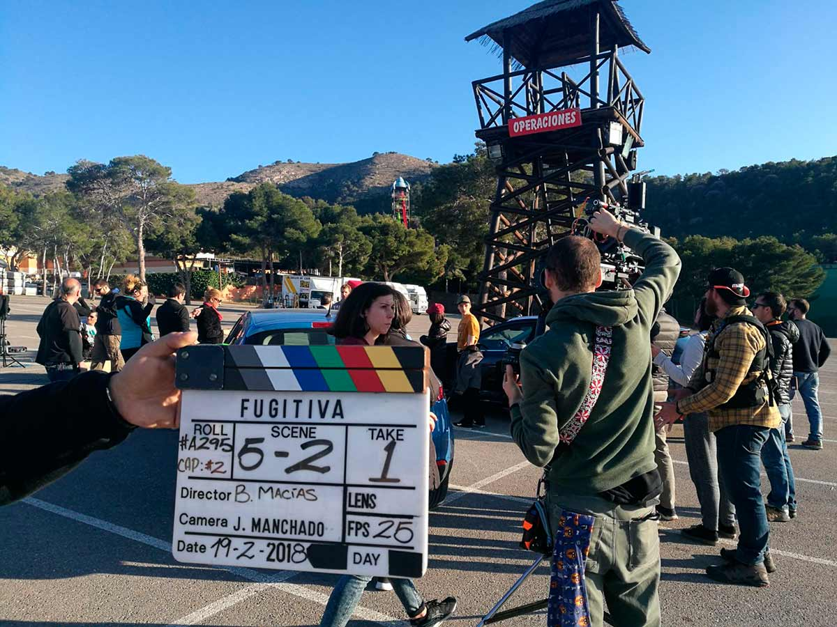 Aqualandia becomes the setting of the new series starred by Paz Vega, Fugitiva