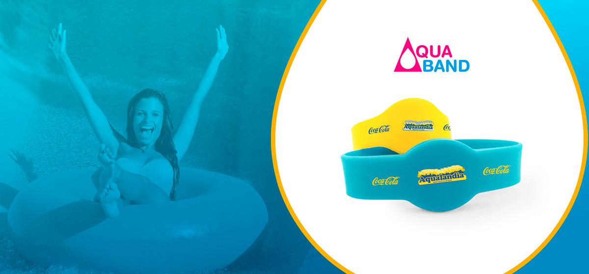 Connaissez-vous AquaBand? Oubliez le porte-monnaie et payez sans problèmes dans le parc