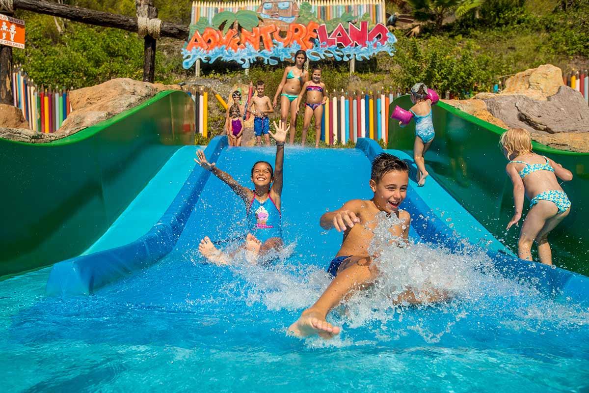 Atracciones infantiles de Aqualandia