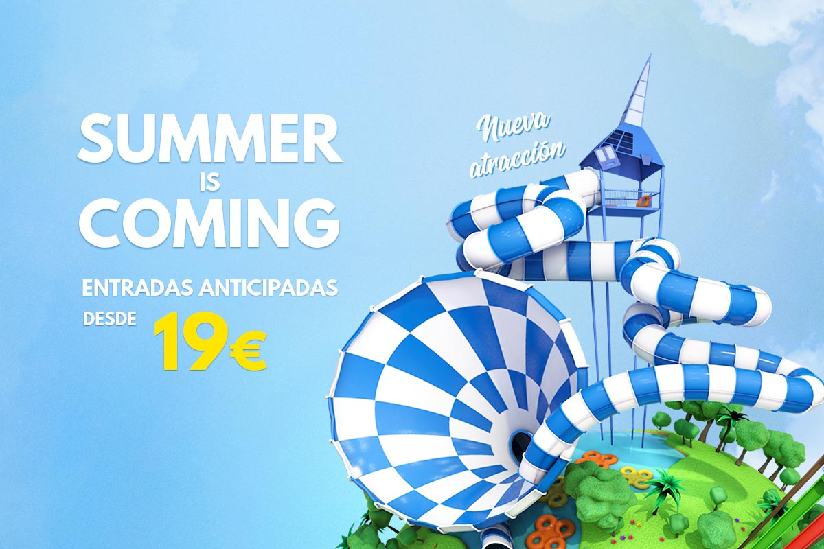 Aqualandia lanza Summer is coming con entradas desde 19 euros