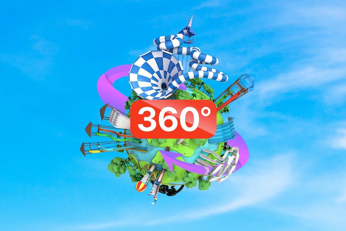 Aqualandia Benidorm en 360º
